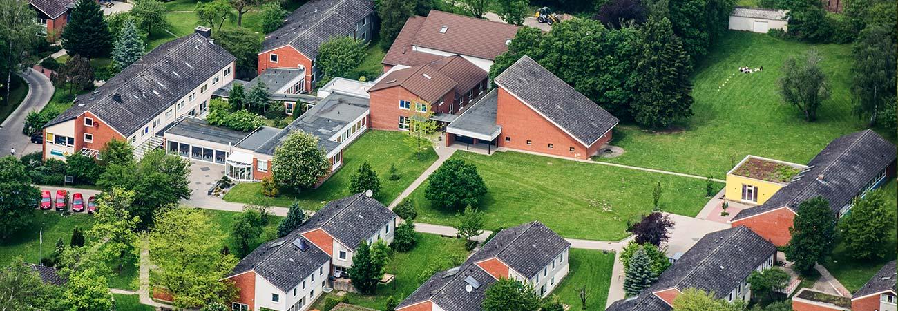 Luftbild St. Ansgar Jugendhilfe